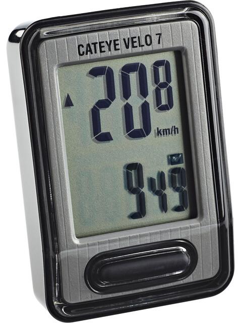 CatEye Velo 7 CC-VL520 - Compteur avec câble - argenté
